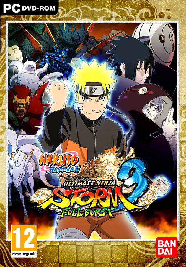Download Naruto Shippuden Ultimate Ninja Storm 3 Full Version Game