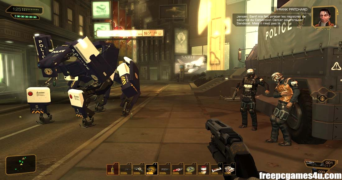 Free Download Deus Ex Human Revolution Director's Cut PC Games