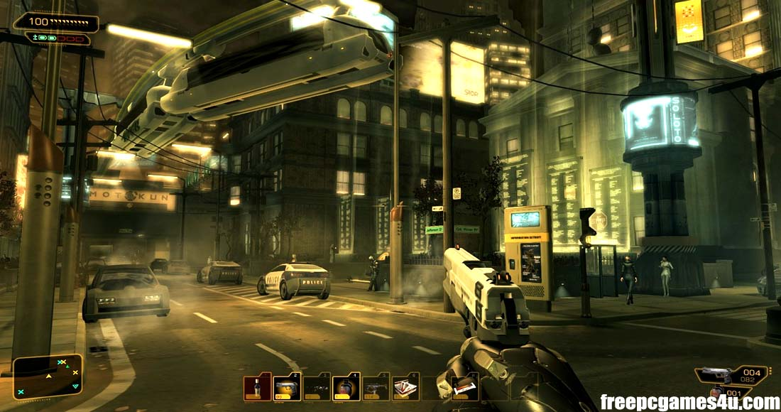 Deus Ex Human Revolution Director's Cut Full Version Free Download PC Games