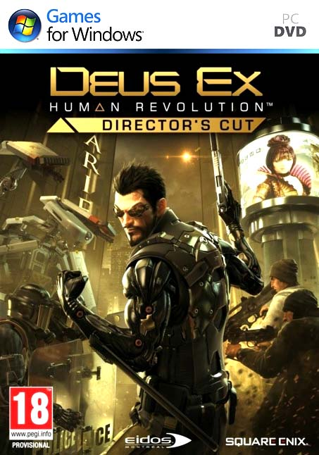 Deus Ex Human Revolution Director's Cut Free Download PC Games